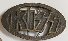KISS VINTAGE 1970'S LOGO BELT BUCKLE - VERY RARE