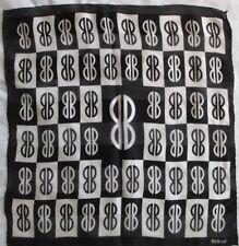 Joli Foulard BILL BLASS 100% soie TBEG vintage scarf 60cm x 60 cm 698c596d41c