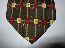 Daniel Adam Boys SILK Tie Necktie 50 x 2.75 green red beige 13511 Free US SHIP