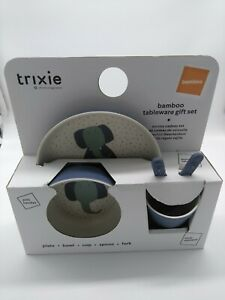 Trixie Bambus Kinder Geschirr Set