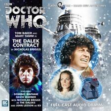 DOCTOR WHO Big Finish Audio CD Tom Baker 4th Doctor #2.6 THE DALEK CONTRACT