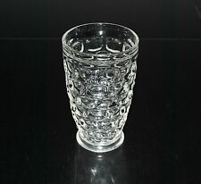 FEDERAL GLASS YORKTOWN LARGE FOOTED TUMBLER