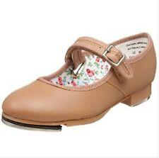 "Capezio 3800 Women's Size 8.5M (Fits 8) Suntan ""Mary Jane"" Buckle Tap Shoe (USA)"