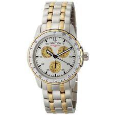New Nautica Men's Windseeker Silver Dial Watch #N14588G