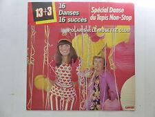 POLARIS ET LE MUSETTE CLUB 16 danses  succes Danse du tapis non stop 13+3 63053