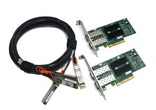 10G Kit Mellanox ConnectX-2 PCIe x8 2.0 10Gigabit 10GBe SFP+ Dual + 2x3m DAC Set