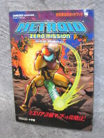 METROID ZERO MISSION Official Guide w/Map Book GBA SG72*