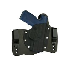 FoxX Leather & Kydex IWB Hybrid Holster Steyr M9 A1 Black Right Tuckable Conceal
