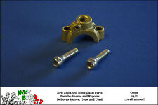 DUCATI / BREMBO   MASTER CYLINDER CLAMP WITH MIRROR MOUNT - GOLD