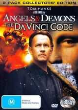 Angels & Demons +The Da Vinci Code (DVD, 2-Disc Set) Collector's Edition - VGC