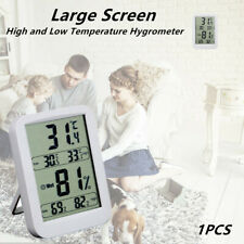 Large Screen Indoor Simultaneously Displays High and Low Temperature Hygrometer
