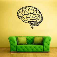 Wall Decal Vinyl Sticker Decals Human Brain Genius Smart Mind decor art (Z1751)