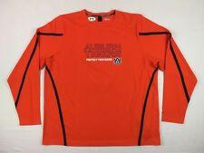NEW Under Armour Auburn Tigers - Orange Poly Long Sleeve Shirt (3XL)