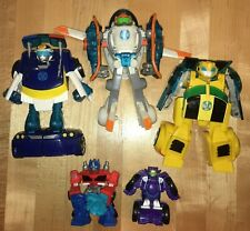 Transformers Rescue Bot Energize Bumblebee Blades Chase Optimus Blurr Flip Racer