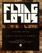 FLYING LOTUS Until The Quiet Comes Ltd Ed RARE New Logo Sticker! You're Dead