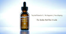 Milkman Grooming Co. Beard Oil, Furiously Nude (50 mL/ 1.7 fl. oz.)