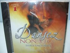 DANSEZ NON STOP TITRES ENCHAINES Vol 1, Orchestra Del Sol, Sony Music Media NEW