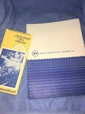 Prudential Lines Cruise Ship folder & brochure