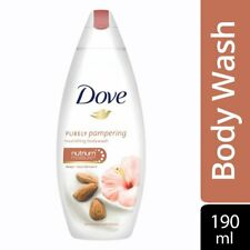 100 % Original Dove Almond Cream and Hibiscus Body Wash 190 ml Free Shipping