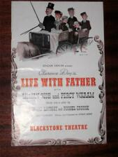 Lilian Gish Life With Father Blackstone Theatre Program