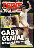 TENNIS GABRIELA SABATINI U. S. OPEN CHAMPION 1990 - Magazine