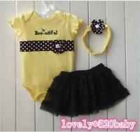 "Christmas present Reborn baby girl doll clothes Dress 20-22"" Newborn Dress set"