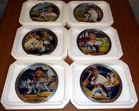 Mickey Mantle Plate Collection NY Yankees MLB Baseball Bradford Exchange