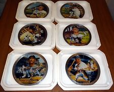 Mickey Mantle Plate Collection NY Yankees MLB Baseball Bradford Exchange