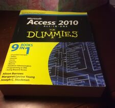 Access 2010 All-In-One for Dummies by Alison Barrows (English) Paperback Book
