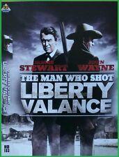 The Man Who Shot Liberty Valance (1962) - James Stewart, John Wayne - DVD NEW