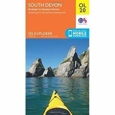 OL20 South Devon Brixham Newton Ferrers Ordnance Survey Explorer Map OL 20
