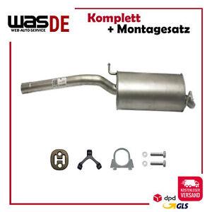 Endschalldämpfer VW CADDY III 1.6 Kasten Kombi 2002-2010 Endtopf Auspuff