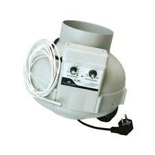 Prima Klima Aspiratore 125mm/400m3/h con centralina