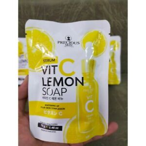 5x 70g Precious Skin Vit C Lemon Body Brightening Soap Whitening Skin Complexion