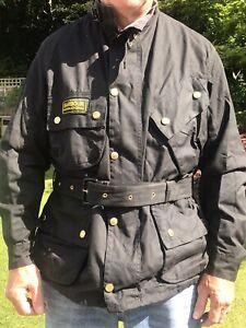Barbour International Wax Jacket XL Excellent Condition