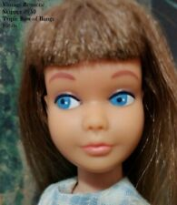 Vintage Barbie Skipper Doll Brunette Triple layer of Bangs #950 SL Japan