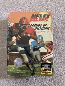 NFL FILMS: Legends Of Autumn Volume 1-3 BRAND NEW SEALED NEVER OPENED