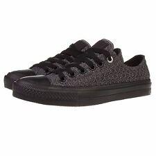 Converse Chuck Taylor All Star II Black Grey Sneakers Size M 9.5/ W 11.5 154024C