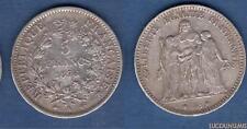 III République , 1871-1940 5 Francs Hercule 1876 A Paris TB TTB - France