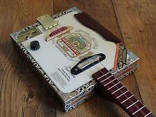 ShonKy Cigar Box guitar. Ukulele, Mandolin Custom Order. Deposit only.