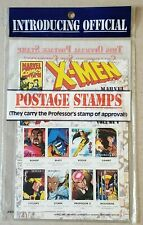 X-Men Official Postage Stamps Collector's Set New Sealed Marvel 1995 Mongolia