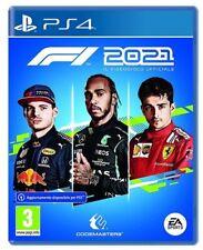 F1 2021 STANDARD EDITION PS4 ITALIANO GIOCO UFFICIALE FIA FORMULA UNO 21 NUOVO