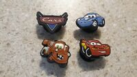 Lot of 4 Cars shoe charms for Crocs shoes. Other uses Craft, Scrapbook