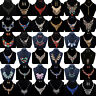 Charm Vintage Jewelry Crystal Choker Chunky Statement Bib Pendant Necklace Chain