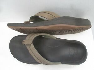 REEF - Mens Flip Flops Sandals - Cushion Bounce Phantom - Brown  Uk 10  -43 eu
