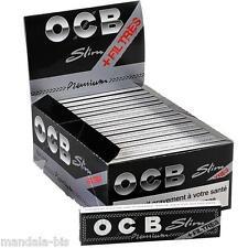 OCB SLIM + TIPS  - Lot de 5 Carnets de 32 Feuilles + 32 Tips