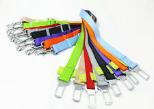 Pet Dog Cat Safety Seatbelt Car Vehicle Seat Nylon Belt Adjustable Harness Lead