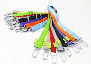 Pet Dog Cat Safety Seatbelt Car Vehicle Seat Nylon Belt Adjustable Harness Lead