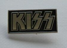 Metal Enamel Pin Badge Brooch Kiss Hard Rock Group Band Music