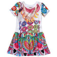 Desigual Sommer Kleid für Mädchen Gr. 158 / 164 NEU mit Etikett